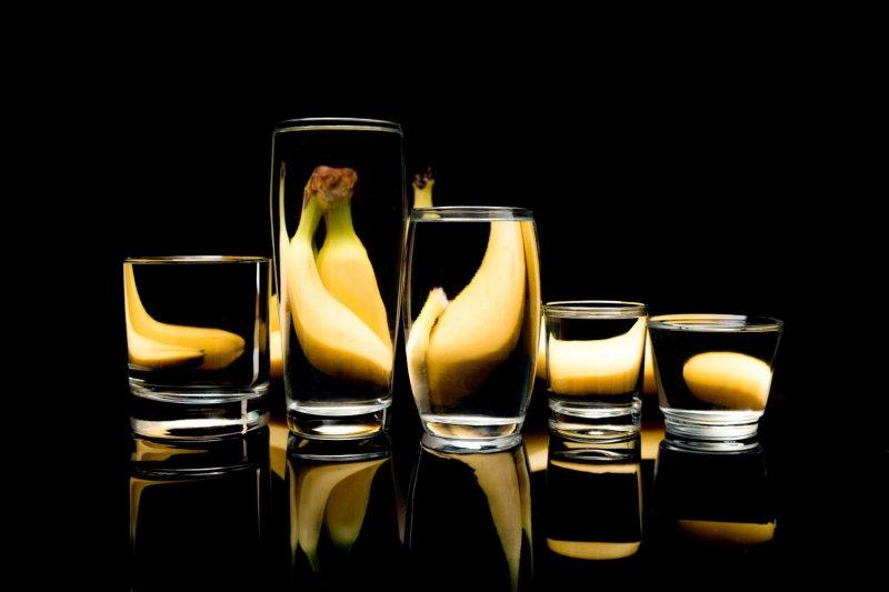 Bananenspiegelung